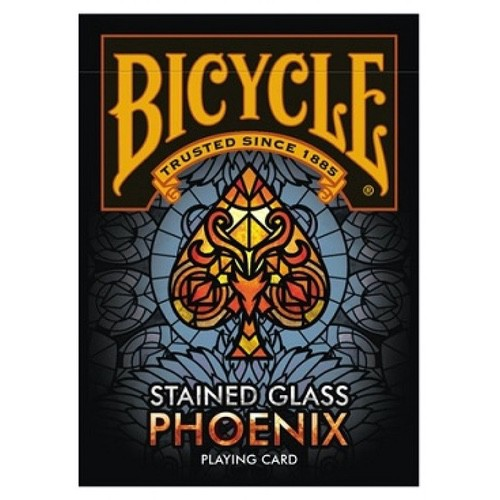 Игральные карты Bicycle Stained Glass Phoenix