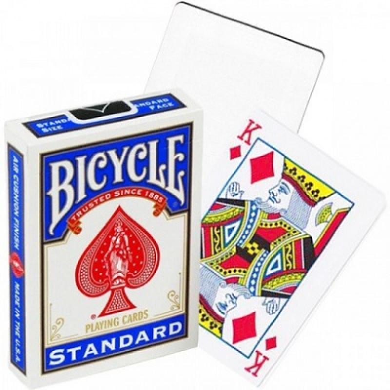 Карты Bicycle пустая рубашка (blank back)