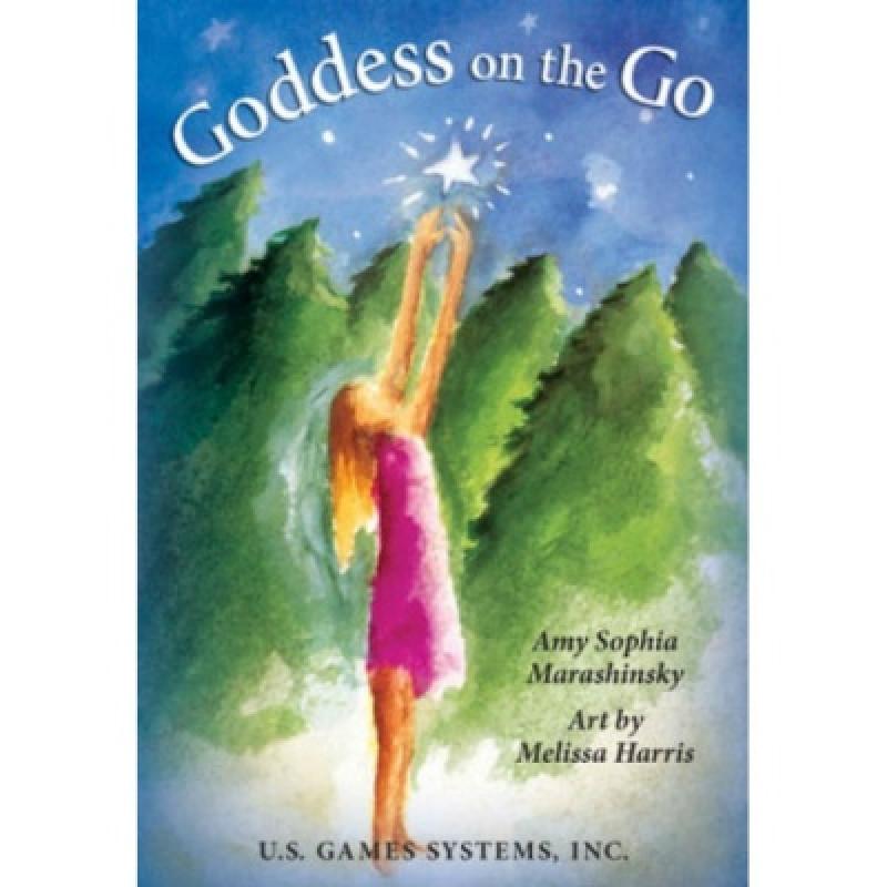 Карты Таро Goddess on the Go/Богиня в движении, USG