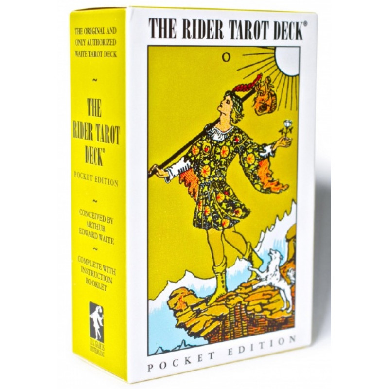 Карты Таро The Rider - Waite Tarot Deck Pocket Edition - US Games Systems