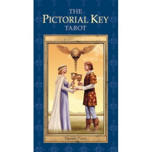 Карты Таро Универсальный Ключ - Pictorial Key Tarot - Corsi, Lo Scarabeo