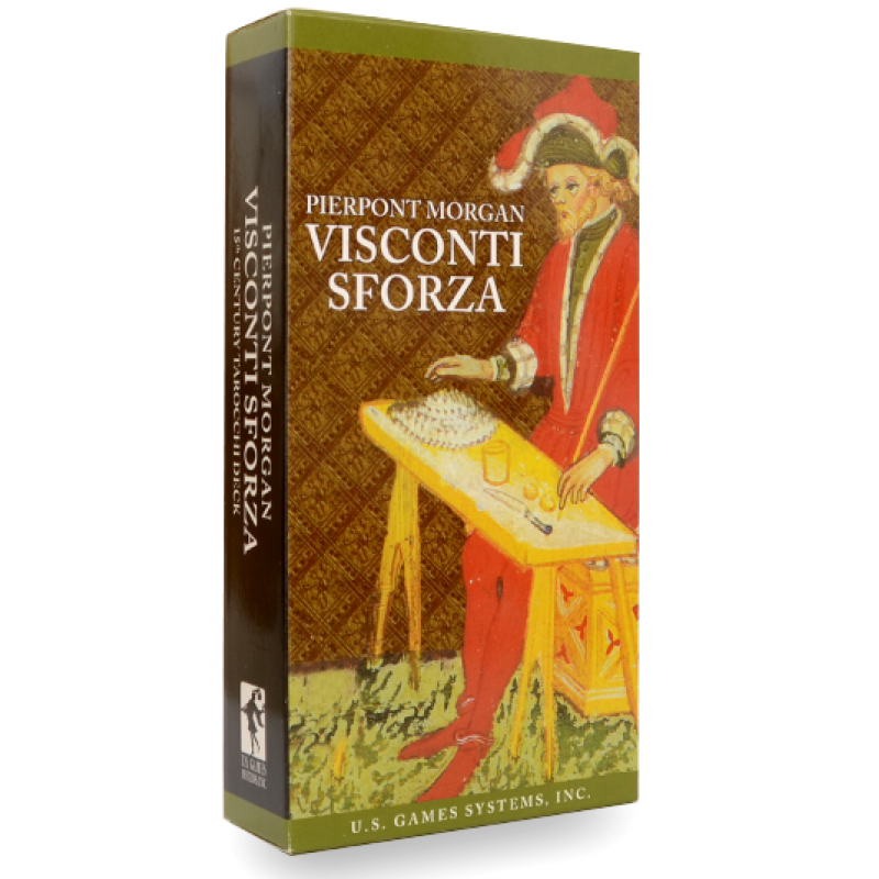 Карты Таро Visconti Sforza (Pierpont Morgan) Tarot/Таро Висконти-Сфорца - US Games