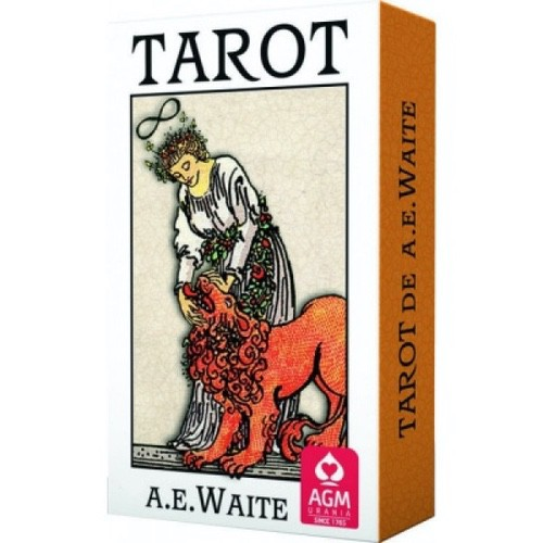Карты Таро Tarot Cards Ae Waite Premium Edition (карманный размер), AGM