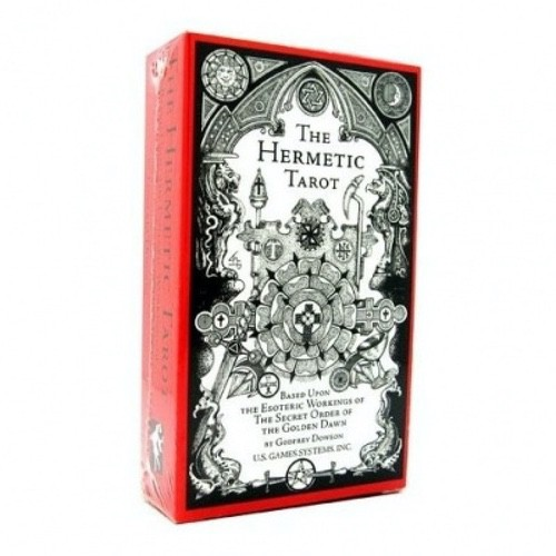 Карты Герметическое Таро - Hermetic Tarot - Godfrey Dowson, US Games Systems