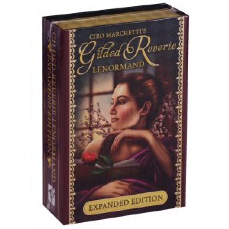 Карты Таро Gilded Reverie Lenormand (Expanded Edition) - Золотые мечты Ленорман (Расширенное издание)