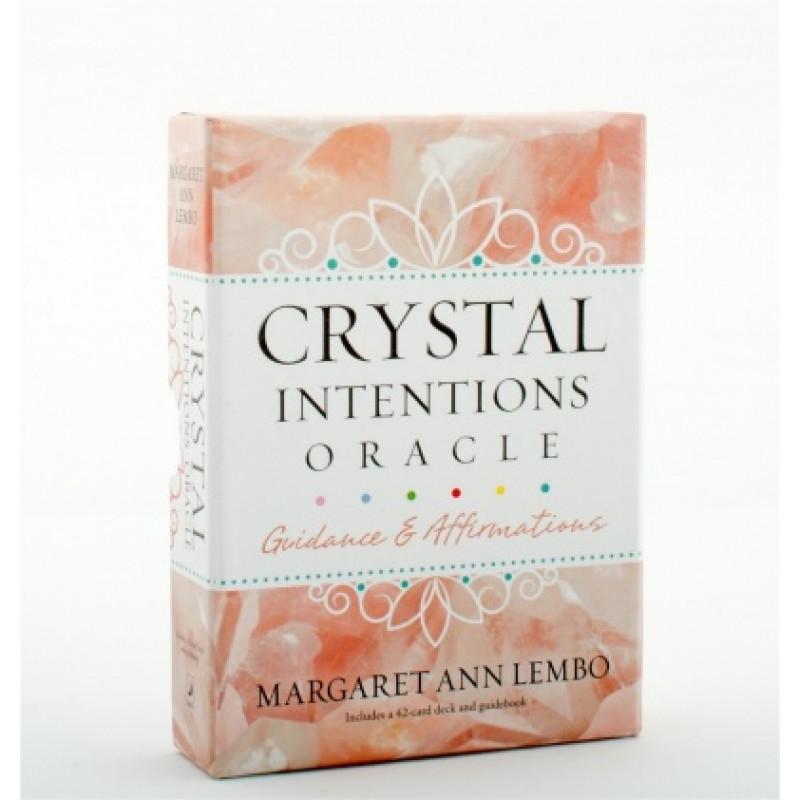 Карты Оракул Oracle Cards Crystal Intentions/Оракул Хрустальные Намерения - Llewellyn
