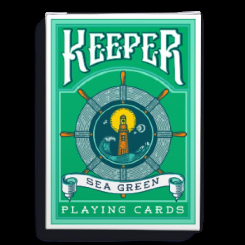 Игральные карты «Keepers» - зелёные