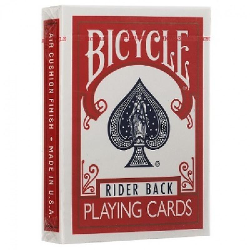 Карты Bicycle Rider Back красные