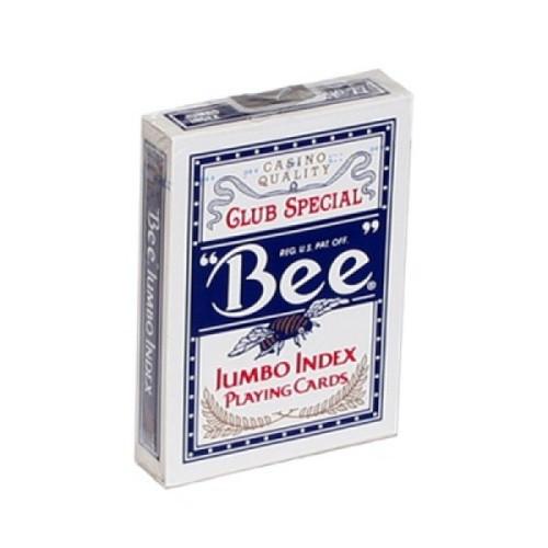 Карты Bee синие - крупный индекс (казино Кристалл)