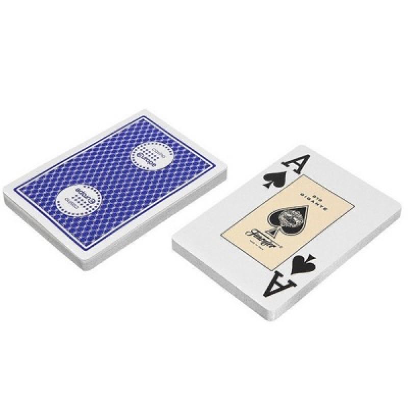 Карты Fournier 818 - синие (казино европа) - картон
