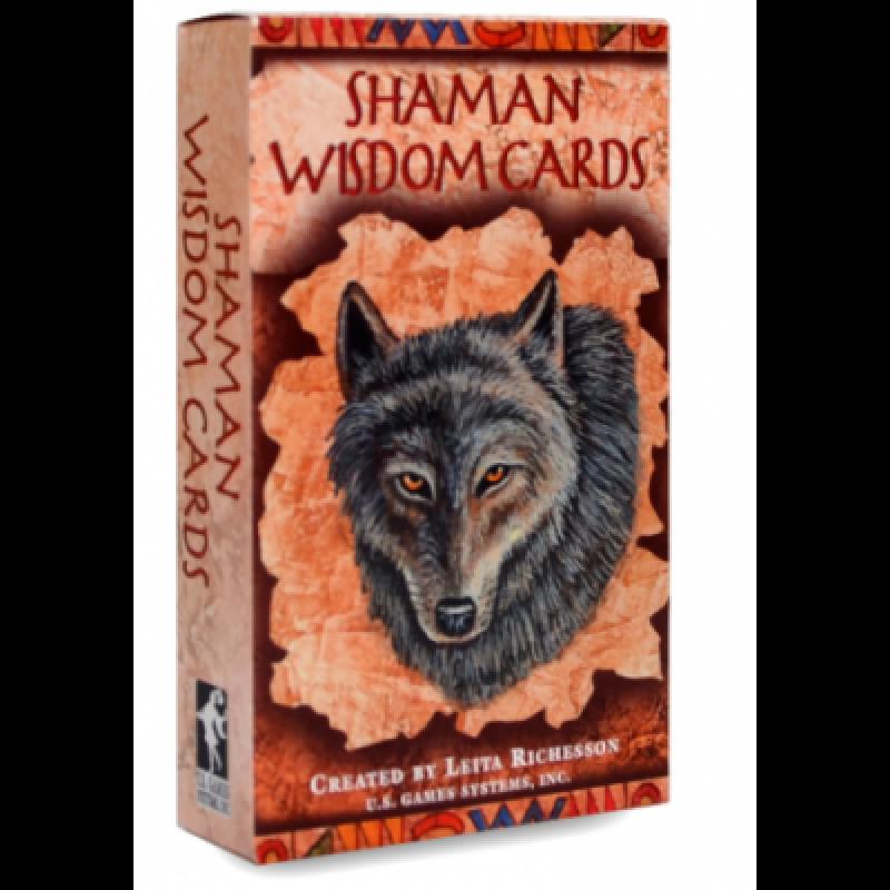 Карты Таро Shaman Wisdom Tarot cards/Таро Шаманская Мудрость - U.S. Games systems