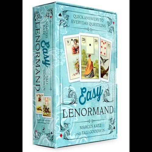 Карты Оракул Oracle Cards Easy Lenormand/Оракул Ленорманд лёгкий - Llewellyn