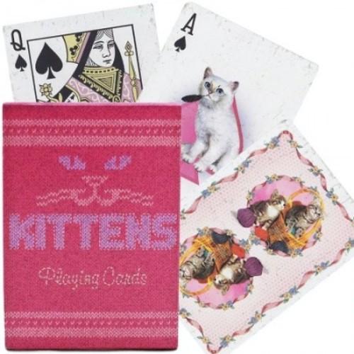 Игральные карты Bicycle Madison Kittens - Ellusionist