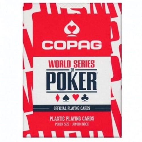 Карты COPAG WSOP красные