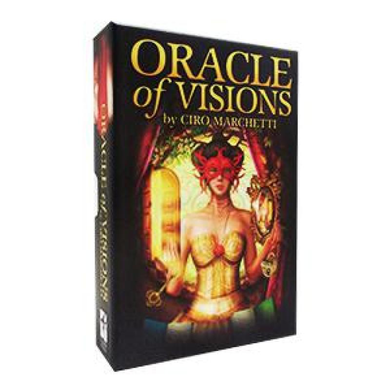 Карты Таро Oracle of Visions by C.Marchetti/Оракул Видений (инструкция на русском), USG
