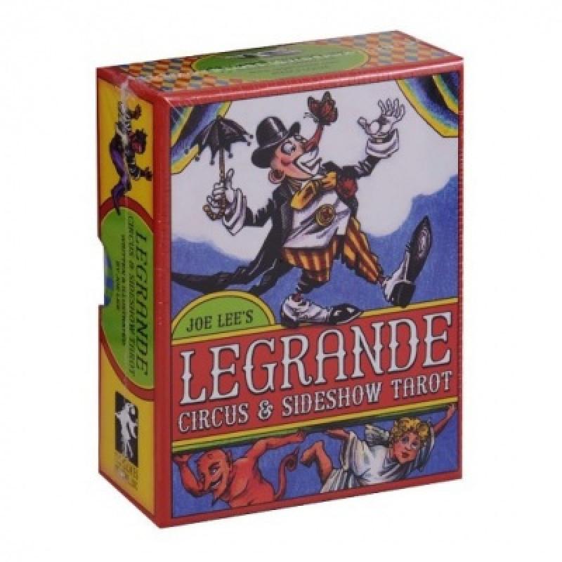 Карты Таро LeGrande Circus & Sideshow Tarot/Таро Великий Цирк и Интермедия - USG