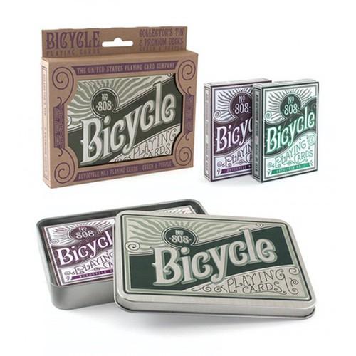 Карты Bicycle Retro Tin - подарочный набор