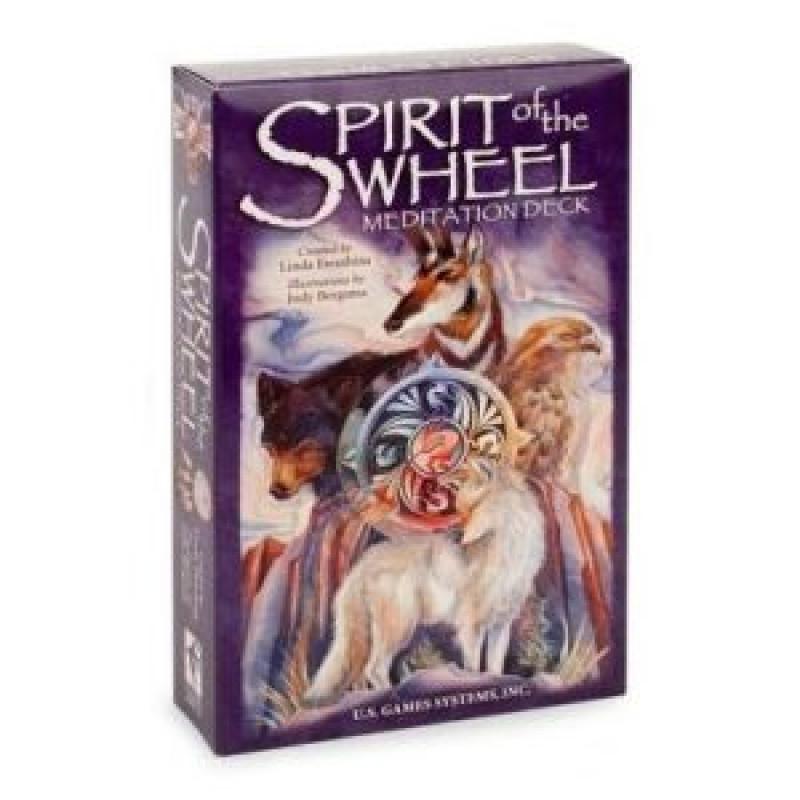 Карты Таро Spirit of the Wheel Premier Edition/Дух колеса (карты со скатертью с описаниями раскладов), USG