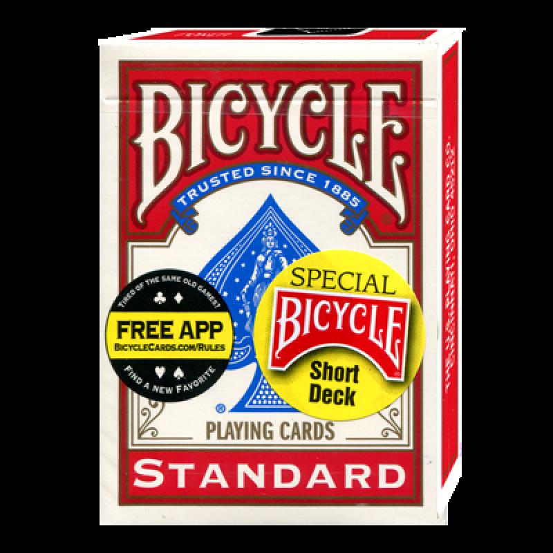 Короткая колода Bicycle (красная)