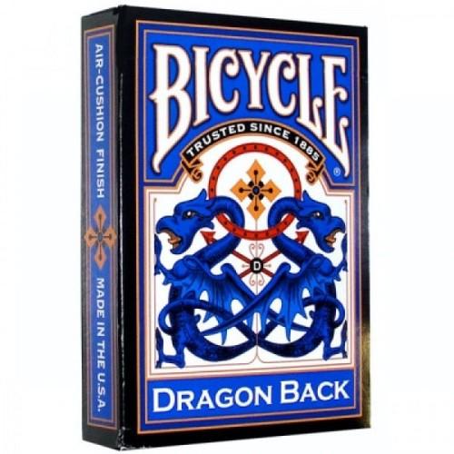 Карты Bicycle Dragon (синяя) - USPCC