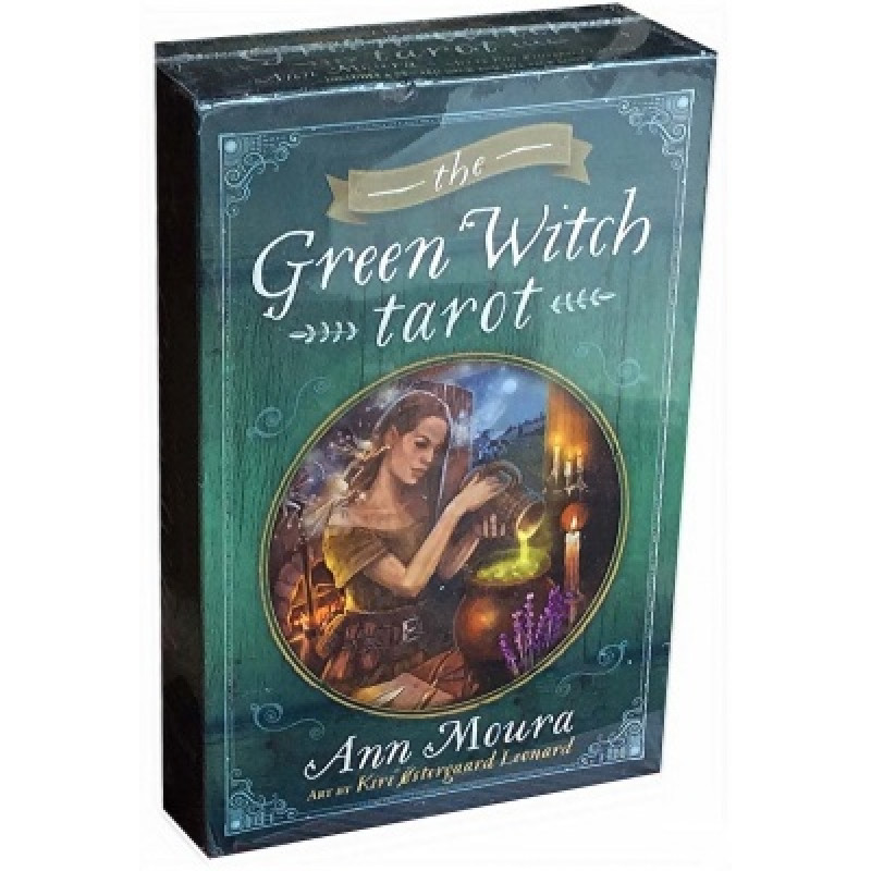Карты Таро Tarot Cards The Green Witch/Таро Зеленая Ведьма - Llewellyn