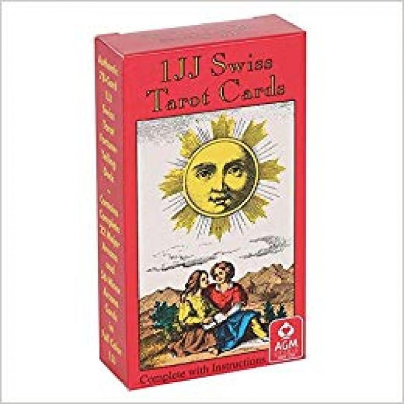 Карты Таро Tarot Cards 1JJ Swiss/Швейцарское Таро, AGM
