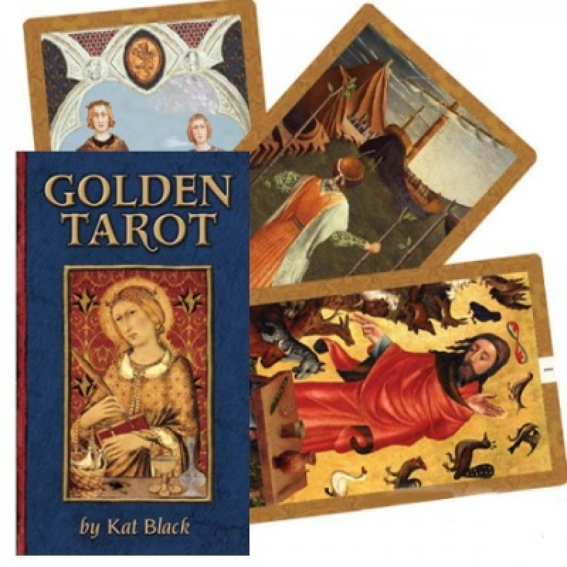 Карты Таро Golden Tarot/Голден таро (Золотое), USG