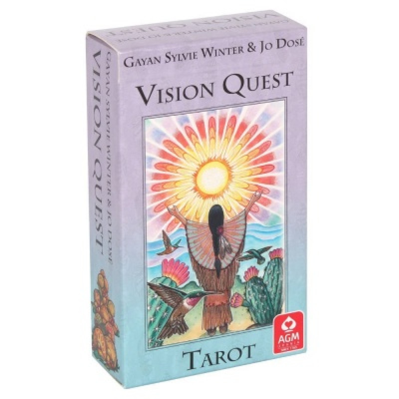 Карты Таро Tarot cards Vision Quest/Таро Поиск Видений - AGM