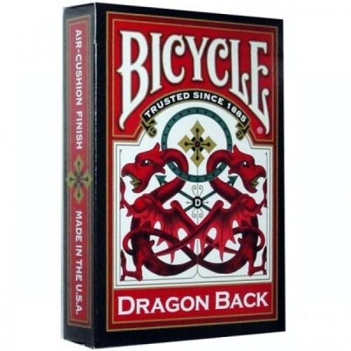 Карты Bicycle Dragon (красные) - USPCC