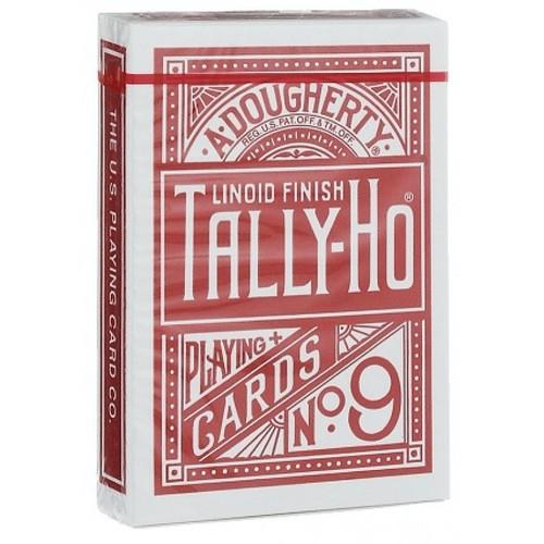 Карты Tally-Ho (Circle back) красные