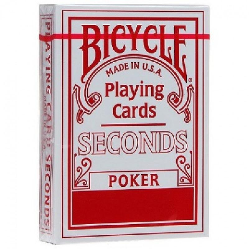 Карты Bicycle Seconds (красные)