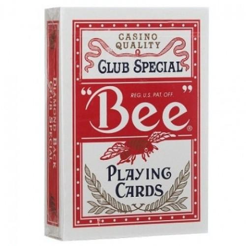 Карты Bee №92 красные