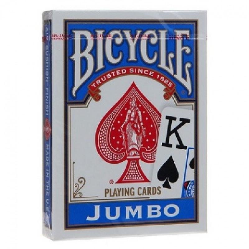 Карты Bicycle Rider Back (крупный индекс, синие)