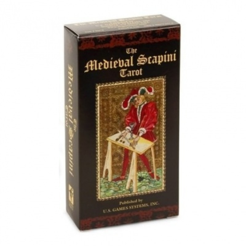 Карты Таро Tarot cards The Medieval Scapini/Средневековое Таро Скапини - US Games Systems