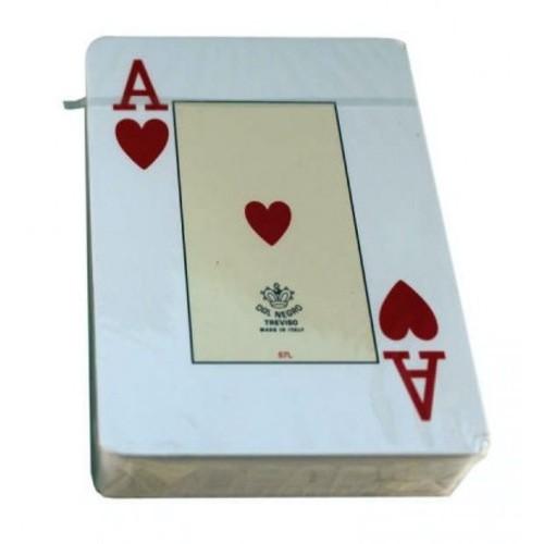 Игральные карты DAL NEGRO - 100% пластик (Казино Космос)