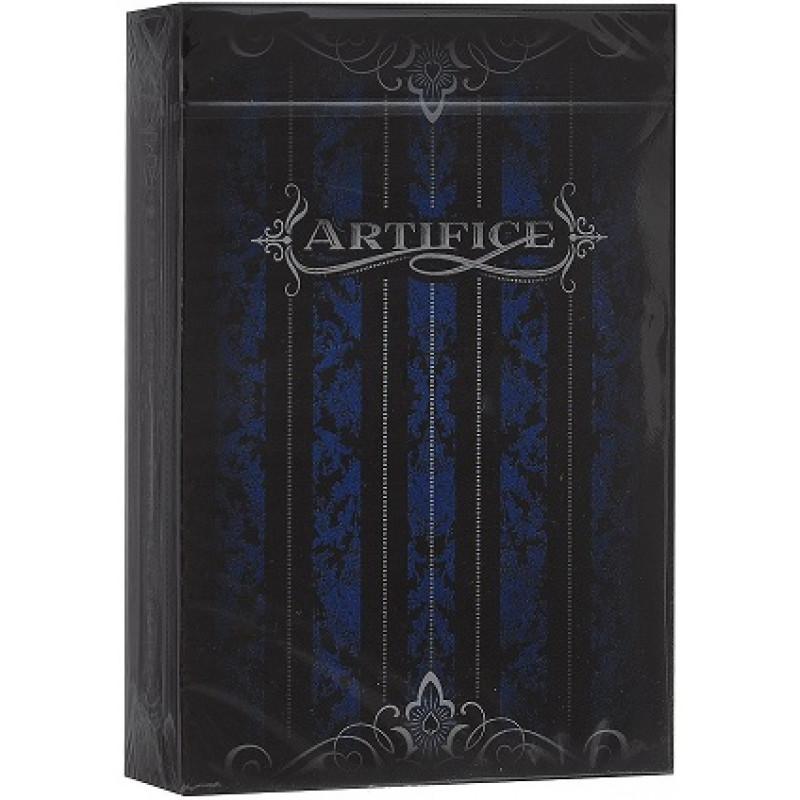 Игральные карты «Artifice» второе издание – синие