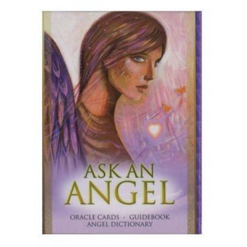 Карты Оракул Oracle cards Ask an Angel/Оракул Вопросы Ангелу - Blue Angel
