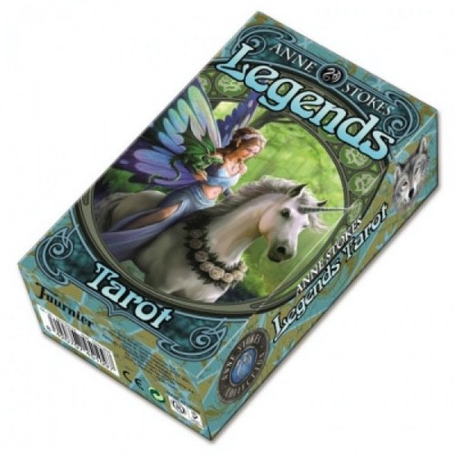 Карты Таро Легенд - Anne Stokes Legends Tarot - Fournier