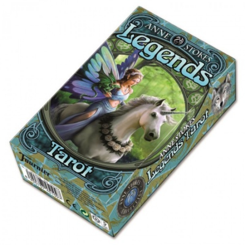 Карты Таро Легенд - Anne Stokes Legends Tarot - Fournier