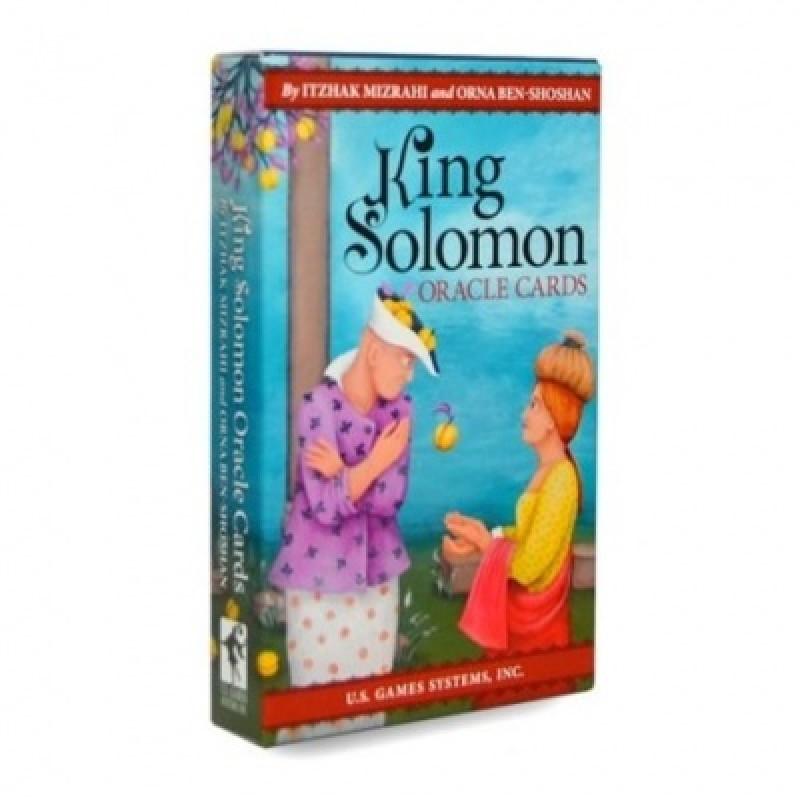 Карты Оракул Oracle cards King Solomon/Оракул Царя Соломона