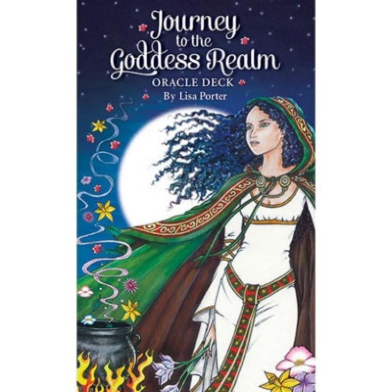 Карты Оракул Oracle cards Journey to the Goddess Realm/Оракул Путешествие в Царство Богини - USG