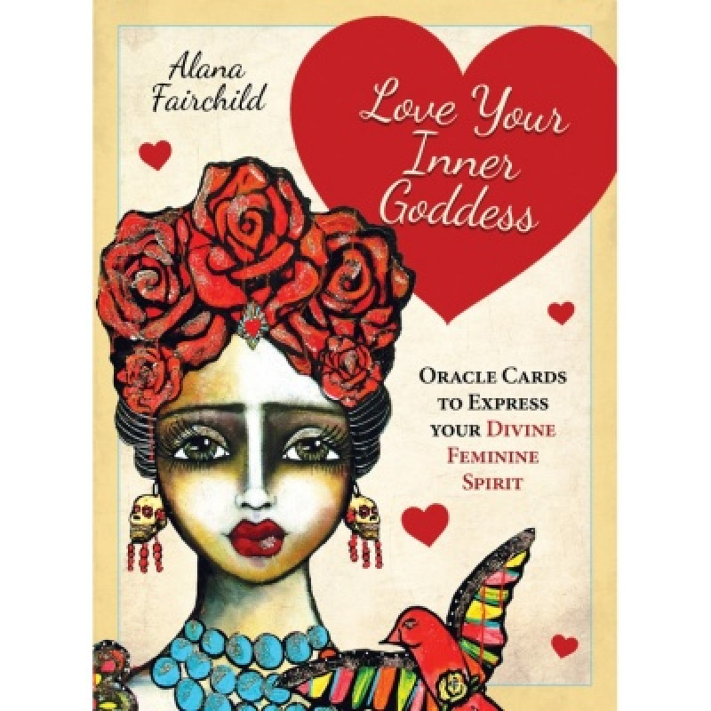 Карты Таро Love Your Inner Goddess/Любите свою внутреннюю богиню оракул, USG
