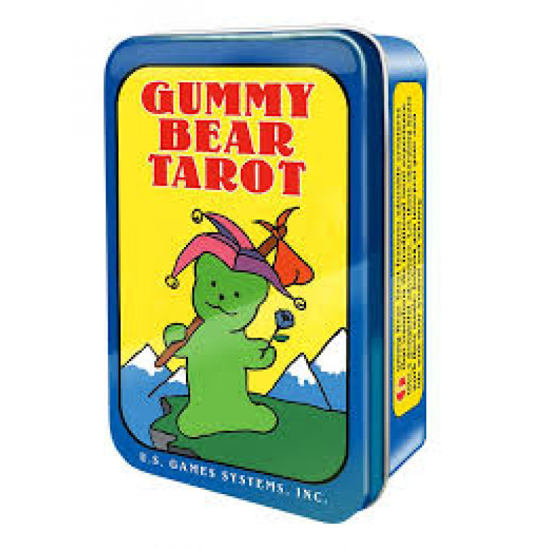 Карты Таро Gummy Bears Tarot cards/Таро Мишки Гамми - U.S. Games systems