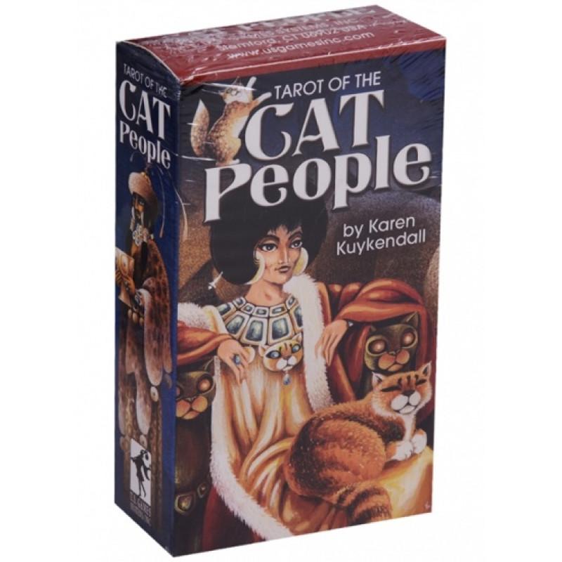 Карты Таро Tarot of the Cat People/Таро Кошачьего Народа - USG