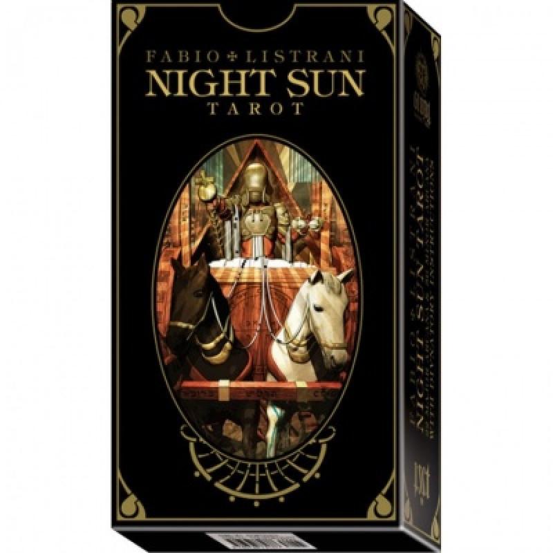 Карты Таро Ночного Солнца - Night Sun Tarot - Fabio Listrani, Lo Scarabeo