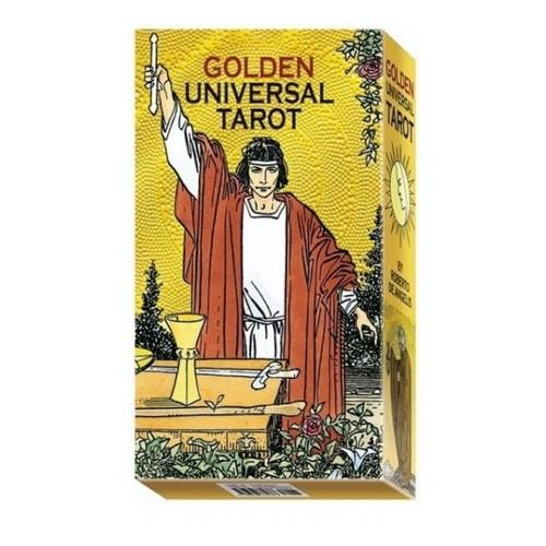 Карты Золотое Универсальное Таро - Golden Universal Tarot - Roberto De Angelis, Lo Scarabeo