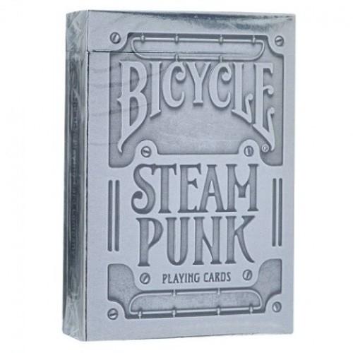 Карты Bicycle Silver Steampunk - USPCC
