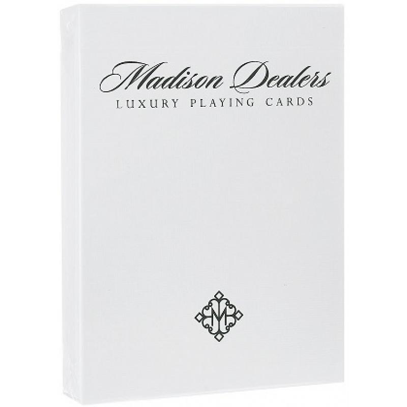 Игральные карты «Madison Dealer» специальное издание – Erdnase green