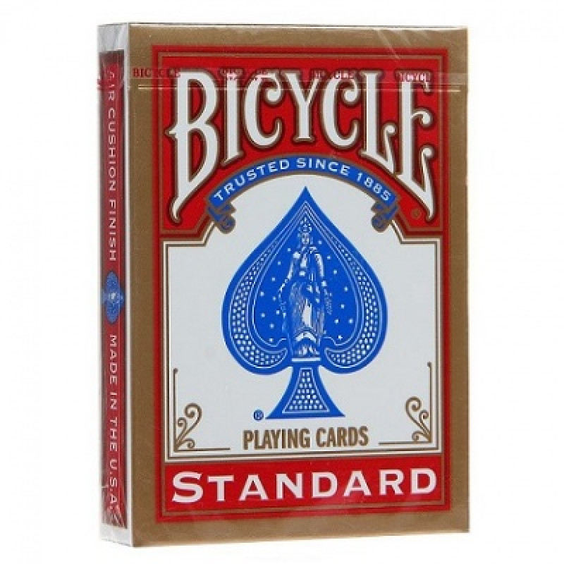 Карты Bicycle standard (красные)