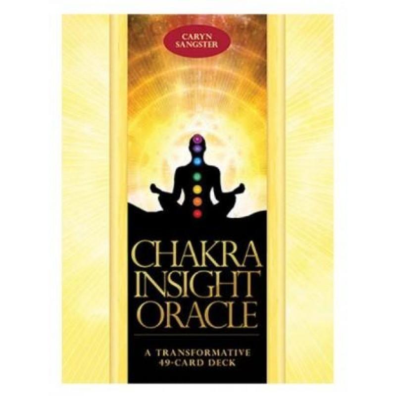 Карты Таро Chakra Insight cards/Изучение Чакры - Blue Angel